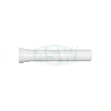 Verlängerungsrohr PP weiß