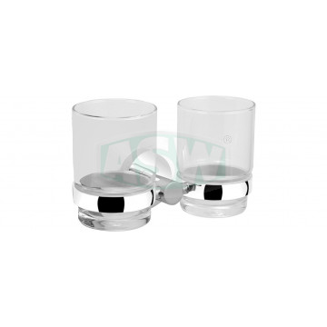 Glashalter doppelt