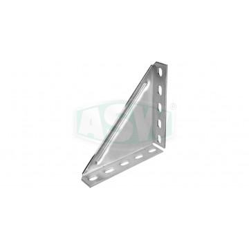 Winkelkonsolen 90°, Stahl verzinkt
