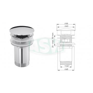 "Design-Schaftventil 1¼"" x Ø 63 mm"