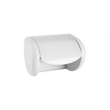 Papierhalter, Kunststoff weiß